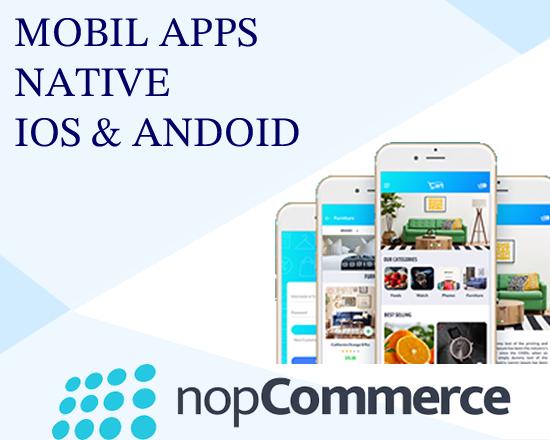 Android & Ios Native  Mobil E-ticaret Uygulaması resmi