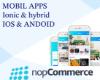 Android & IOS  için ionic - hybrid   mobil e-ticaret uygulaması resmi